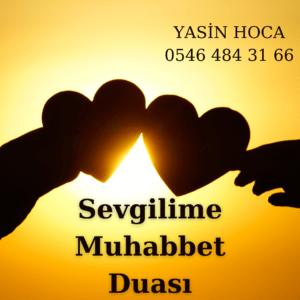 Sevgilime Muhabbet Duası
